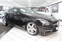 USED 2014 14 MERCEDES-BENZ SLK 2.1 SLK250 CDI AMG SPORT AUTO 204 BHP BLUEEFFICIENCY FULL BLACK LEATHER MERC HIST!