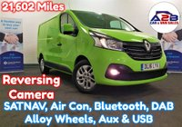2016 RENAULT TRAFIC 1.6 SPORT DCI in Bamboo Green with Low Mileage (21,602) Satellite Navigation, Reversing Camera, Air Conditioning, Bluetooth, Alloy Wheels, DAB Radio and more £11980.00