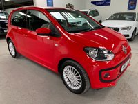 2016 VOLKSWAGEN UP 1.0 HIGH UP 5d 74 BHP £6995.00