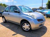 2003 NISSAN MICRA 1.2 S 3d AUTO 80 BHP £1499.00
