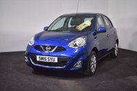 USED 2015 15 NISSAN MICRA 1.2 ACENTA 5d AUTO 79 BHP