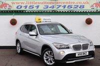 2011 BMW X1 2.0 XDRIVE23D SE 5d AUTO 201 BHP £9000.00