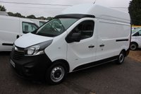 2016 VAUXHALL VIVARO 1.6 2900 L2H2 CDTI P/V ECOFLEX S/S 1d 118 BHP LONG WHEEL BASE AND HIGH ROOF 33,000 MILES £11995.00