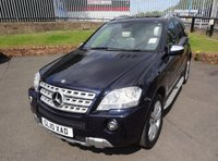 USED 2010 10 MERCEDES-BENZ M CLASS 3.0 ML350 CDI BLUEEFFICIENCY SPORT AUTO 231 BHP 3 Months National Warranty - Comprehensive Service History