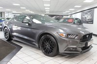 USED 2016 16 FORD MUSTANG 5.0 V8 GT FASTBACK AUTO 410 BHP FFSH CLIMATE SEATS SHAKER CAM!