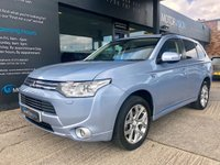 USED 2015 15 MITSUBISHI OUTLANDER 2.0 PHEV GX 4H 5d AUTO 162 BHP NAV, Heated Leather, Rear Camera, FSH, 2keys