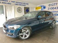 2013 BMW 1 SERIES 2.0 116D SPORT 5d 114 BHP £7795.00