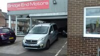USED 2016 16 PEUGEOT PARTNER 1.6 BLUE HDI TEPEE ALLURE 5d AUTO 100 BHP AUTOMATIC PEUGEOT PARTNER TEPEE MODEL WITH LOW CO2 EMISSIONS, ONLY £20 ROAD TAX, AND CHEAP TO RUN!..GREAT SPECIFICATION INCLUDING AIR CONDITIONING, PARKING SENSORS, CLIMATE CONTROL,  ONLY 16830 MILES FROM NEW, MEETS ALL LARGE CITY EMISSION STANDARDS.