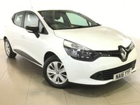 USED 2016 16 RENAULT CLIO 1.1 EXPRESSION 16V 5d 73 BHP 1 OWNER |