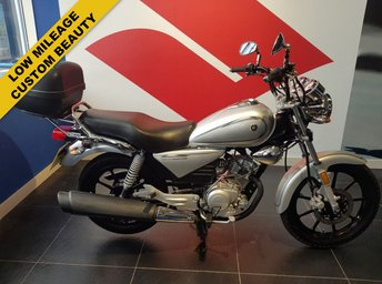 View our YAMAHA YBR 125 CUSTOM