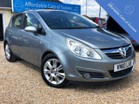 USED 2010 10 VAUXHALL CORSA 1.4 SE 5d AUTO 98 BHP Great Value 5 door Automatic Top Spec SE