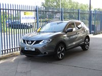 USED 2015 15 NISSAN QASHQAI 1.5 DCI N-TEC PLUS 5d 108 BHP Zero Road Tax-Panoramic Roof-Colour Sat Nav