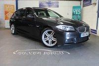 2013 BMW 5 SERIES 2.0 520D M SPORT TOURING 5d AUTO 181 BHP £12990.00
