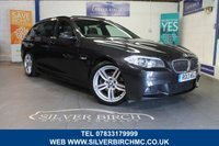 USED 2013 13 BMW 5 SERIES 2.0 520D M SPORT TOURING 5d AUTO 181 BHP 1 owner, £9595 extras Pan Roof