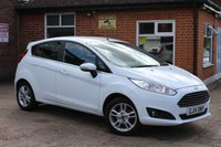 USED 2014 14 FORD FIESTA 1.2 ZETEC 5d 81 BHP ONLY 15000 MILES!