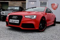 USED 2015 64 AUDI RS5 Quattro 4.2 V8 FSI S Tronic 2dr ( 450 bhp ) Very Low Mileage Over £9k Worth of Extras Stunning Example