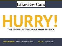 USED 2015 65 VAUXHALL ADAM 1.4 GLAM 3d 85 BHP