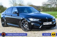 USED 2017 67 BMW M3 3.0 M3 COMPETITION PACKAGE 4d AUTO 444 BHP