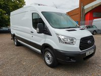 USED 2015 65 FORD TRANSIT 350 L3 H2 LWB Med roof GAH Fridge Van *ONLY 45000 MILES* GAH FRIDGE UNIT - SIDE LOADING DOOR - LOW MILES