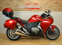USED 2012 12 HONDA VFR 1200 F-C FULL LUGGAGE, SAT NAV, LESS THAN 4k MILES !! **DEPOSIT TAKEN**