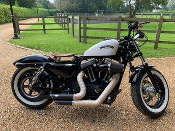 2013 HARLEY-DAVIDSON XL 1200 1202cc FORTY EIGHT XL 1200 X 14  £8949.00