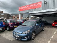 USED 2014 64 VAUXHALL ASTRA 1.6 ELITE 5d 113 BHP CHEAP TO RUN ,LOW CO2 EMISSIONS AND EXCELLENT FUEL ECONOMY! WITH AUXILIARY INPUT, CRUISE CONTROL, USB INPUT, AIR CONDITIONING, LEATHER TRIM AND ALLOYS!