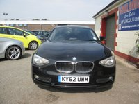 USED 2012 62 BMW 1 SERIES 1.6 116D EFFICIENTDYNAMICS 5d 114 BHP 83.1 MPG EXTRA - SPEED LIMITER