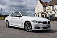 2015 BMW 4 SERIES 2.0 420D M SPORT 2d AUTO 181 BHP £21978.00