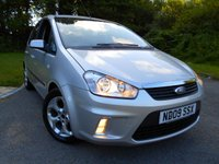 USED 2009 09 FORD C-MAX 1.6 ZETEC 5d 100 BHP ** ONE PREVIOUS  OWNER , YES ONLY 53K, NICE EXAMPLE **