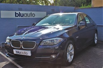 2012 BMW 5 SERIES 2.0 520D SE 4d 181 BHP £9990.00