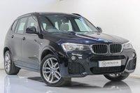 USED 2015 15 BMW X3 2.0 XDRIVE20D M SPORT 5d 188 BHP