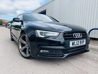 2012 AUDI A5 2.0 TDI BLACK EDITION 2d 177 BHP £10950.00