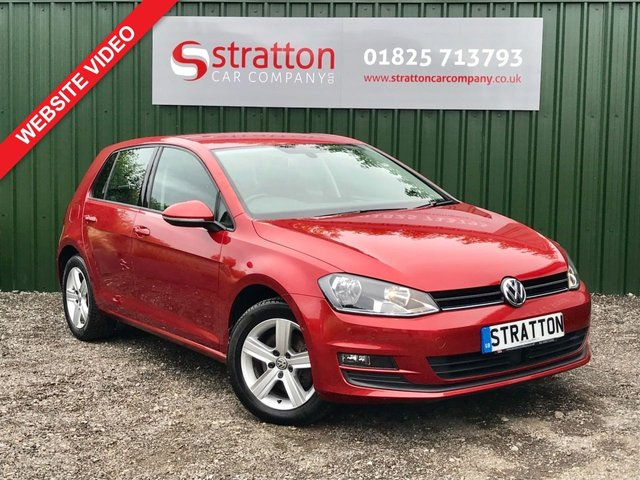 2015 15 VOLKSWAGEN GOLF 1.4 MATCH TSI BLUEMOTION TECHNOLOGY 5d 121 BHP