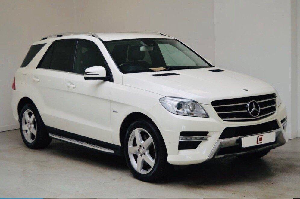 2012 Mercedes-Benz M Class Ml250 Bluetec Sport £16,995