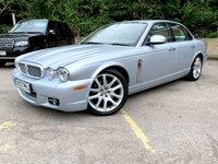 2007 JAGUAR XJ 2.7 SOVEREIGN V6 4d AUTO 204 BHP FULL LEATHER. SAT NAV, ONLY 78K £7490.00