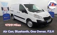 2016 PEUGEOT EXPERT 1.6 HDI 1000  PROFESSIONAL LOW MILEAGE (47519 Miles) Air Con, Bluetooth, One Owner, F.S.H Pedigree Example. £7980.00