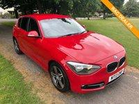 USED 2013 13 BMW 1 SERIES 1.6 116I SPORT 5d AUTO 135 BHP