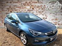 USED 2016 16 VAUXHALL ASTRA 1.4 SRI NAV S/S 5d AUTO 148BHP ** 1 OWNER, FULL VAUXHALL HISTORY AND LOW MILEAGE **