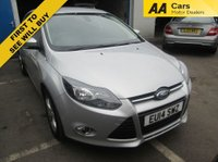 USED 2014 14 FORD FOCUS 1.6 ZETEC 5d 104 BHP