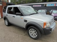 USED 2008 08 LAND ROVER DISCOVERY 2.7 3 COMMERCIAL XS 1d 188 BHP