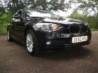 2013 BMW 1 SERIES 2.0 116D SE 5d 114 BHP FREE WARRANTY + 12 MONTHS MOT  £5899.00