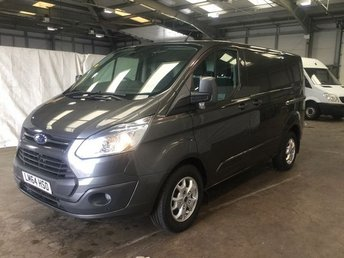 2014 FORD TRANSIT CUSTOM 2.2 290 LIMITED LR P/V 1d 153 BHP £11000.00