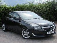 USED 2015 15 VAUXHALL INSIGNIA 2.0 DESIGN CDTI ECOFLEX S/S 5d * ONE OWNER FROM NEW * ECONOMICAL TO RUN *