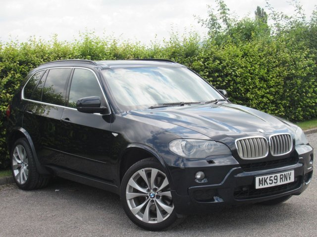 USED 2009 59 BMW X5 3.0 XDRIVE35D M SPORT 5d AUTOMATIC * SPORT * AUTOMATIC * CRUISE * MANUAL * SPORT DRIVE OPTIONS *