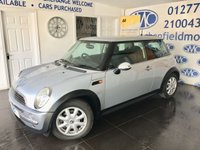 2004 MINI HATCH ONE 1.4 ONE D 3d 87 BHP £SOLD
