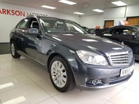 USED 2008 58 MERCEDES-BENZ C CLASS 1.8 C180 KOMPRESSOR ELEGANCE 4d AUTO+LEATHER+CRUISE CONTROL+ALLOYS+