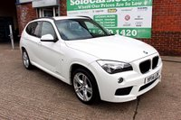 USED 2014 14 BMW X1 2.0 XDRIVE20D M SPORT 5d 181 BHP +HEATED LEATHER +SERVICED.
