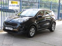USED 2016 16 KIA SPORTAGE 1.7 CRDI 1 ISG 5dr DAB Cruise Bluetooth Finance arranged Part exchange available Open 7 days
