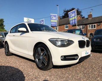 2013 BMW 1 SERIES 1.6 116I SPORT 3d 135 BHP £9595.00