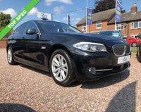 USED 2012 61 BMW 5 SERIES 2.0 520D SE 4d AUTO 181 BHP